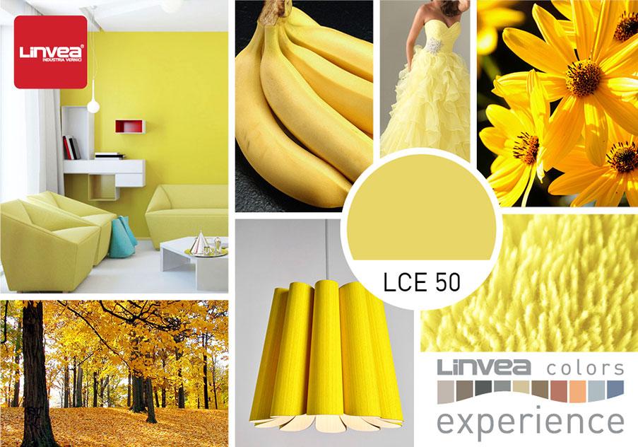 lce 50 colore giallo