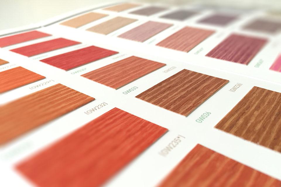 Colori Vernici Legno : Vernici per legno green wood cartelle colore linvea industria