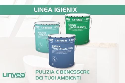 LINEA IGIENIX, PRODOTTI PER LA PREVENZIONE DELLA MUFFA DI LINVEA